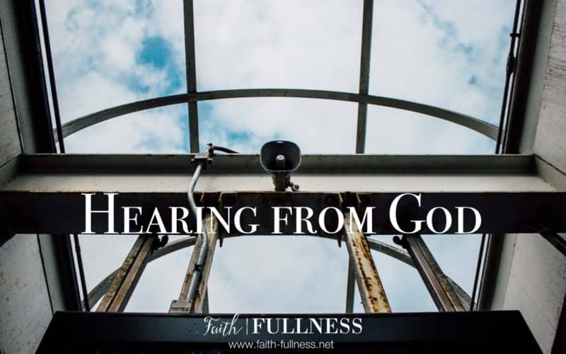 Hearing from God: Making Space to Hear from God