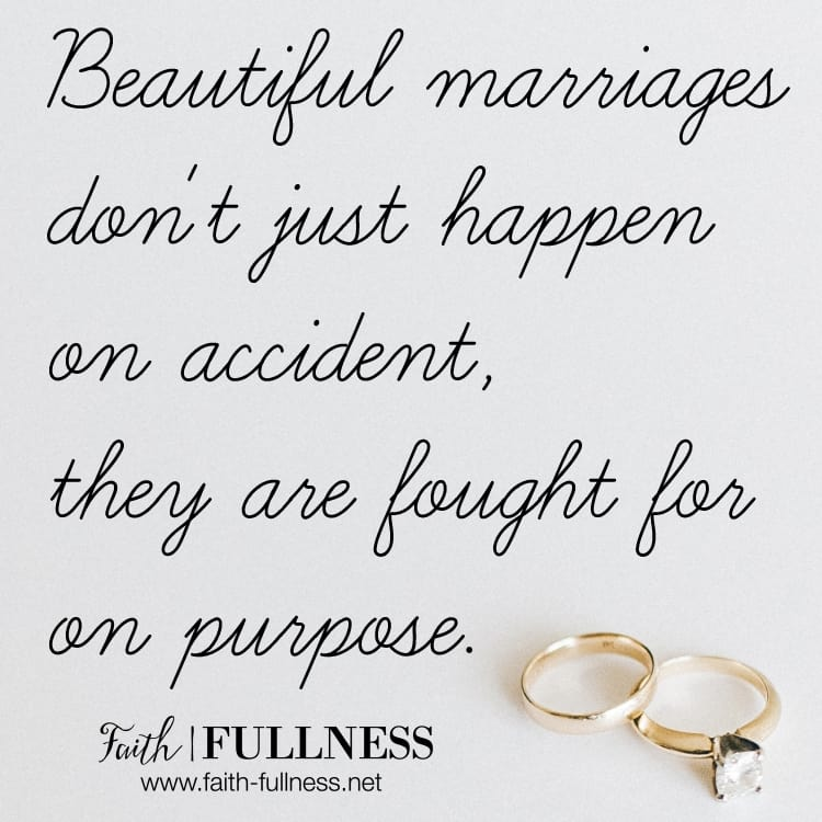 Comparison is a slippery slope when it comes to marriage, it causes us to be discontent and ungrateful for what God has already given us. We end up blaming our spouse for not filling us the way we want, when we should be looking to the Lord to make us whole and provide everything we need in marriage and in our lives. | Faith-Fullness.net