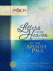 The Passion Translation Letters from Heaven